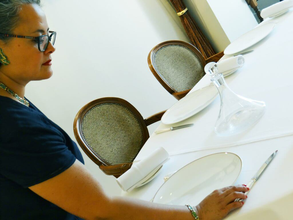 dressage de table à Dijon, l'art de la table